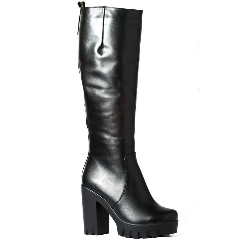 Женские кожаные сапоги »828» 1bb4cff716722