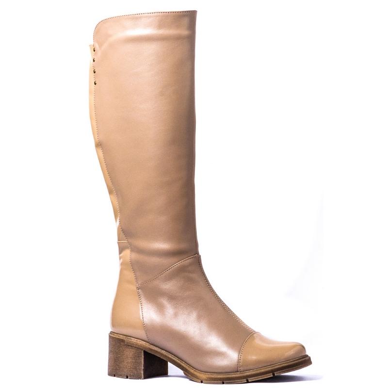 Женские кожаные сапоги »Каролина 2», код  — 4007