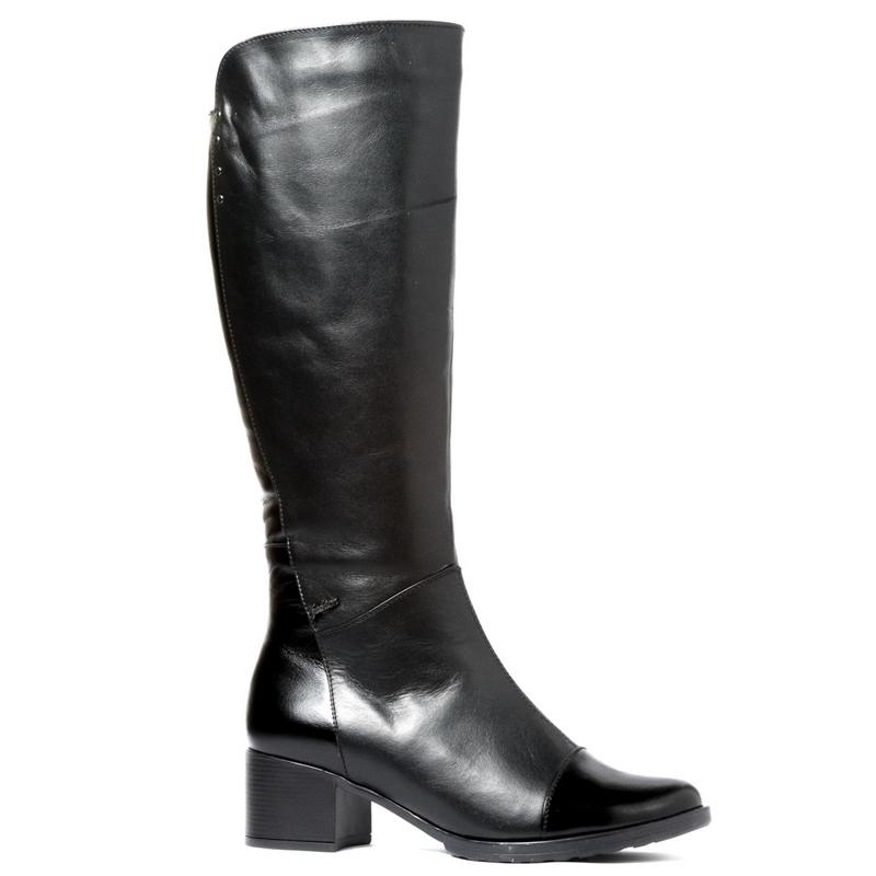 Женские кожаные сапоги »Каролина 2», код  — 4006