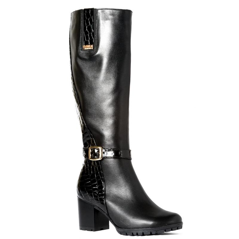 Женские кожаные сапоги »Мадонна» 10e4f4b223774