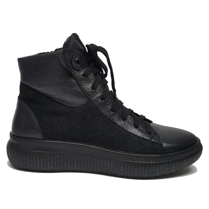 Женские кожаные ботинки «Жаннэт»