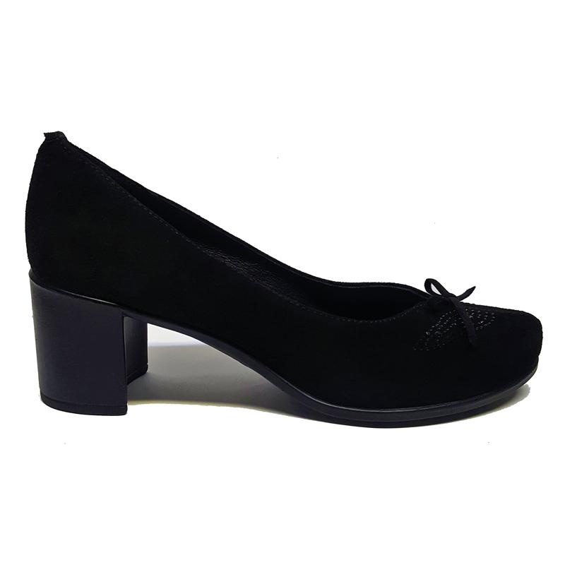 Женские замшевые туфли модель «Кэтрин 513»