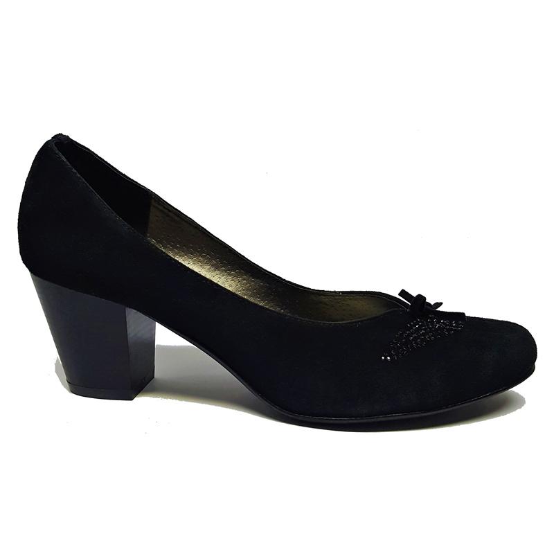 Женские замшевые туфли модель «Кэт 6004»
