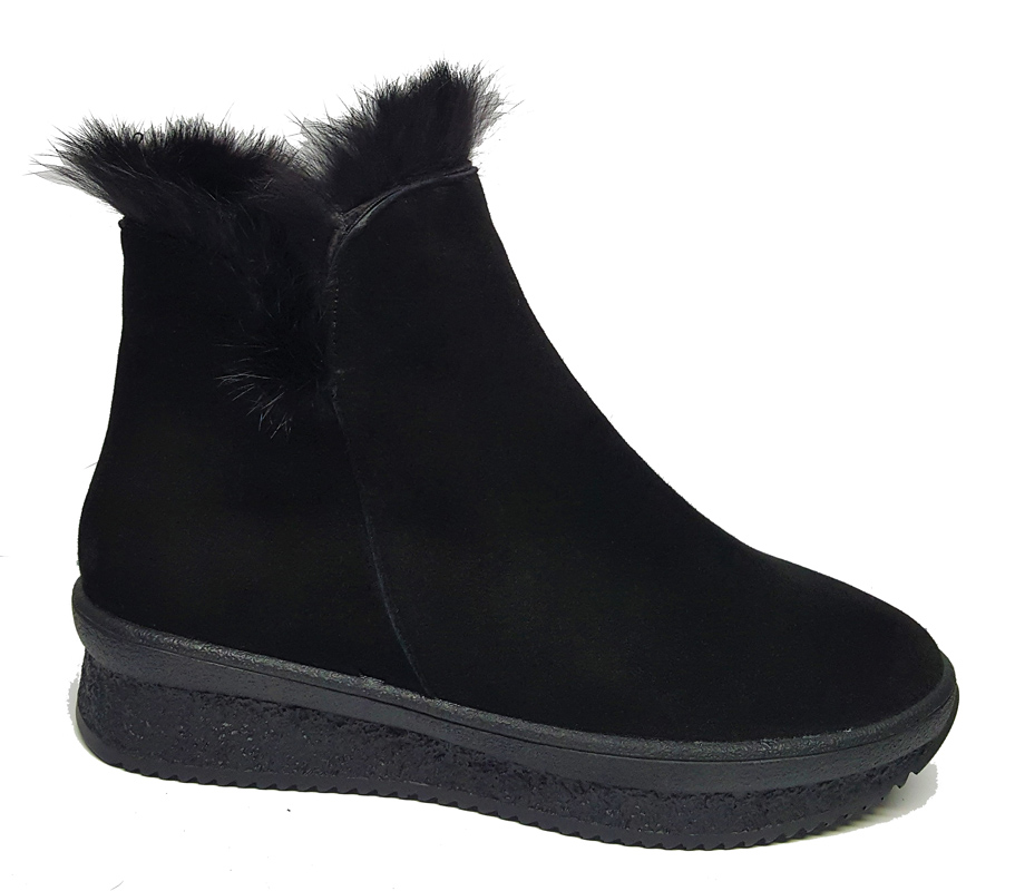 Женские замшевые ботинки «Моника»