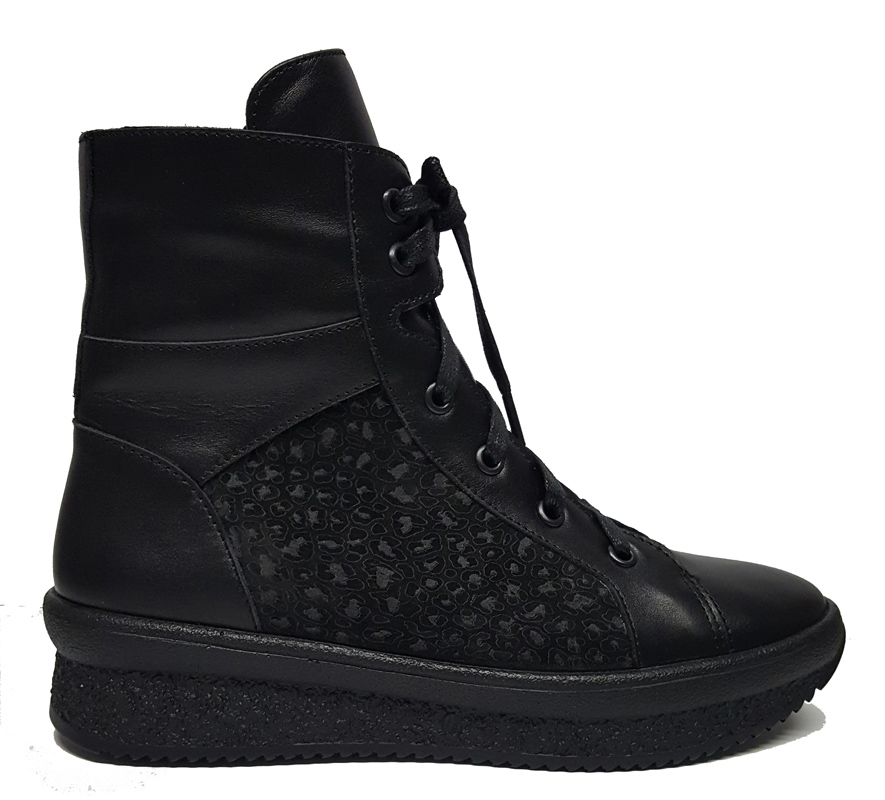 Женские кожаные ботинки «Ольга» №2