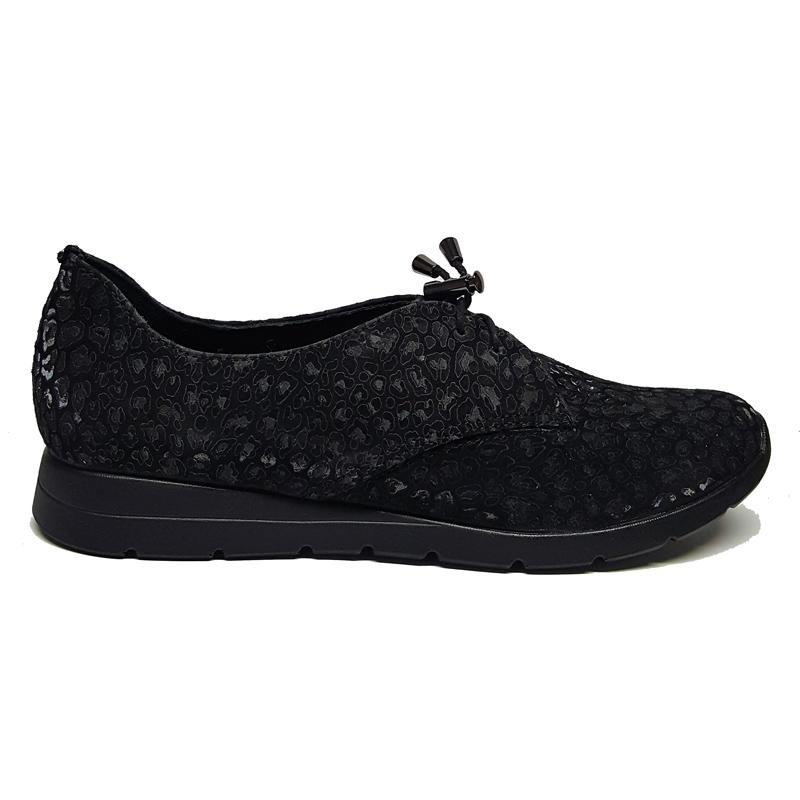 Женские замшевые туфли модель «171» накат