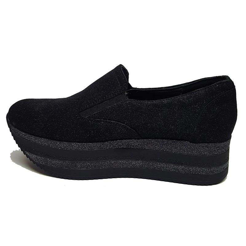 Женские замшевые туфли модель «21873»
