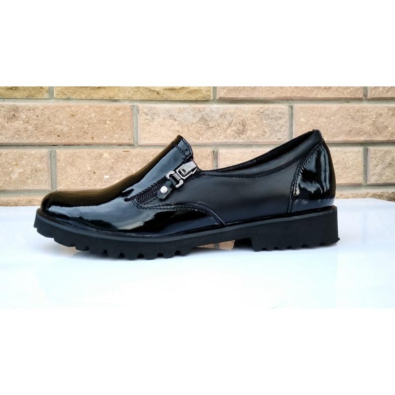 40cb6803c2a6 Женские кожаные туфли »Замочки», код — 4147 купить в Днепропетровске ...