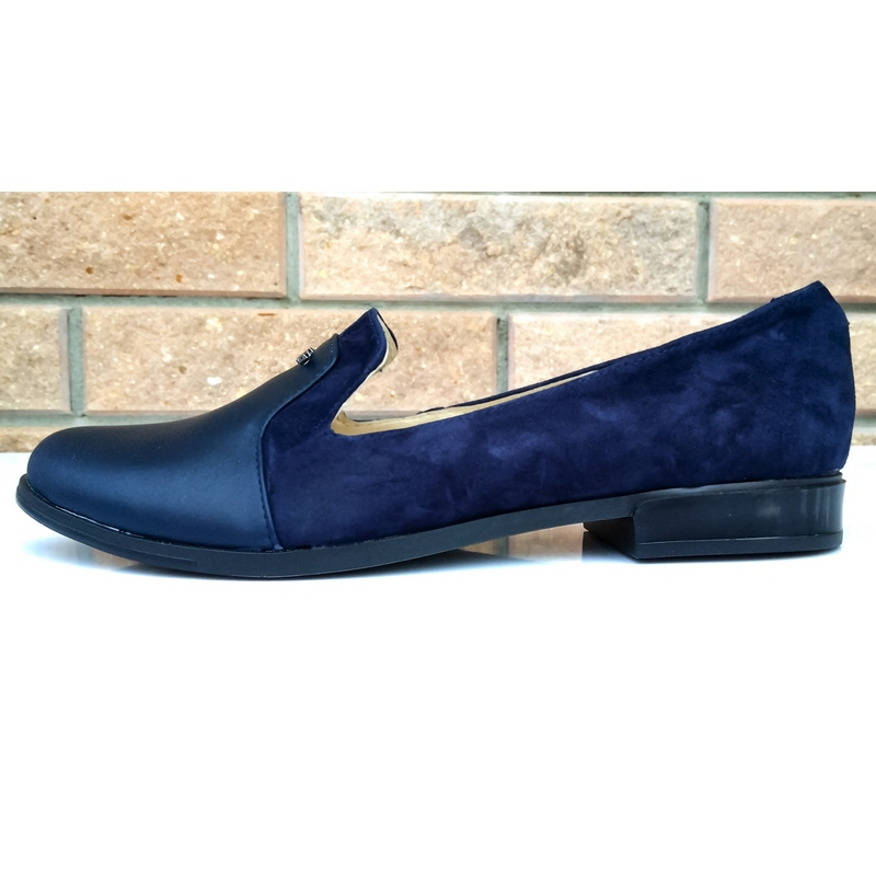 3fb440846 Женские замшевые туфли »Николь», синие, код — 4153 купить в Днепропетровске  (Днепре) и Харькове - Интернет магазин женской кожаной обуви от  производителя